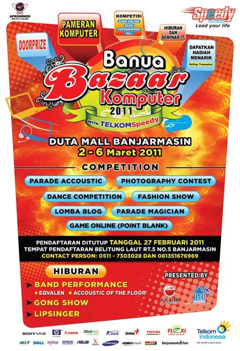 Banua Bazar Komputer 2011 Banjarmasin