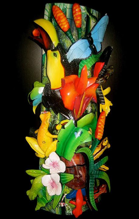 Artisan Jose Delgados Indigenous Costa Rican Masks