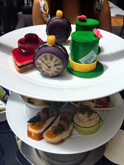 High Tea The Westin Hotel Mad Hatter Alice In Wonderland Afternoon Tea Layers