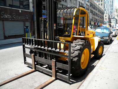 Big Yellow Forklift
