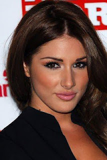 Lucy Pinder lips face mouth