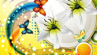 Wallpaper Animasi Kupu-kupu Cantik