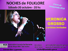 Verónica Grosso y artistas invitados