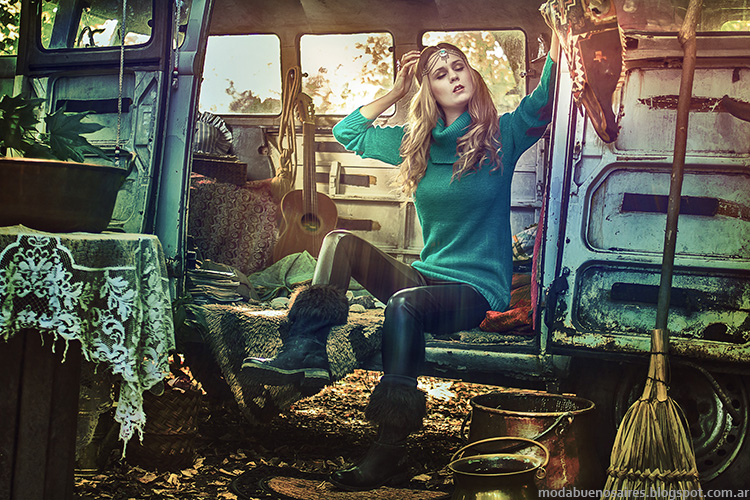 ¨Polerones y Sweaters tejidos invierno 2014 Skiva.