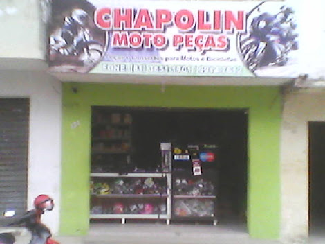 CHAPOLIN MOTO PEÇAS.... O LUGAR ONDE VOCÊ ENCONTRA TODOS OS TIPOS DE PEÇAS PARA MOTOS E BICICLETAS!