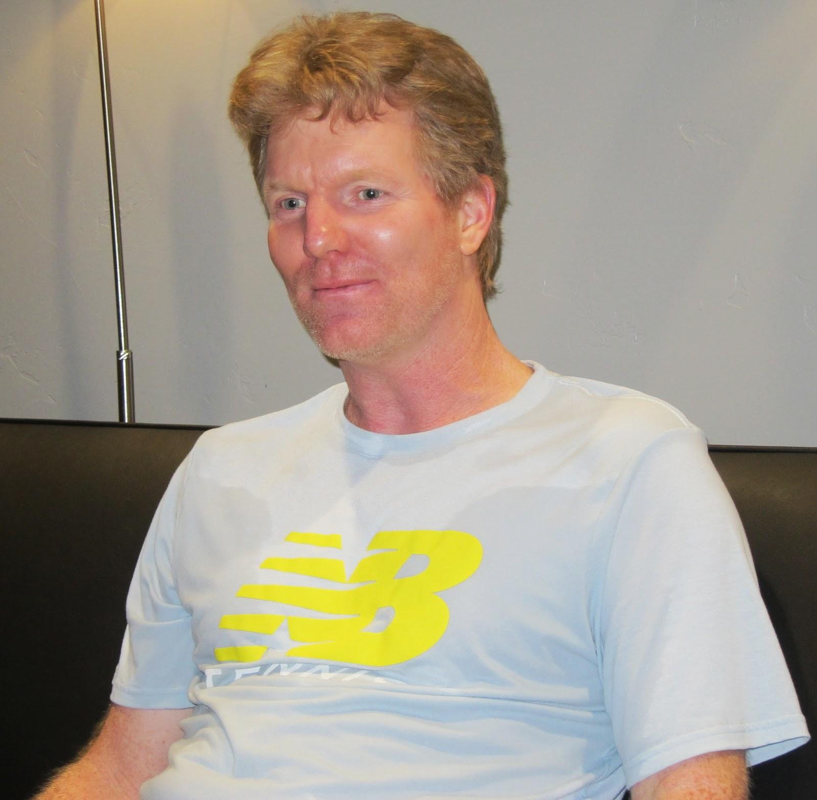"NorCal Tennis Czar Jim Courier Q&A ""30 minutes of terror"""