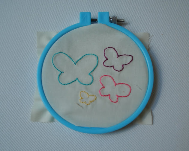 Clover violet — embroidery basic supplies