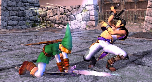 Link on Soul Calibur 2