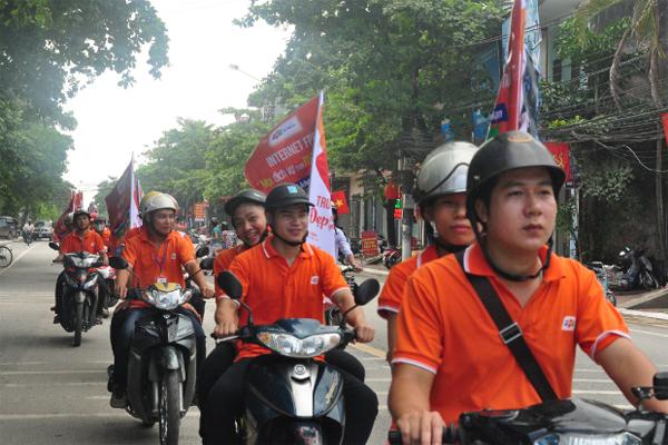 FPT Tuyên Quang Rầm Rộ Trong Ngày Đầu Ra Quân