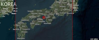 TERREMOTO 6.0 GRADOS EN JAPON, 12 DE ABRIL 2013