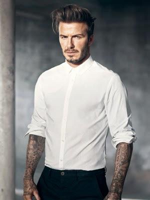 moda hombre David Beckham H&M camisa primavera verano 2015