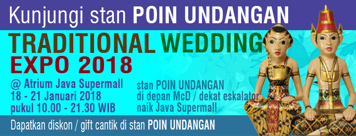 Traditional Wedding Expo 2018 di Semarang