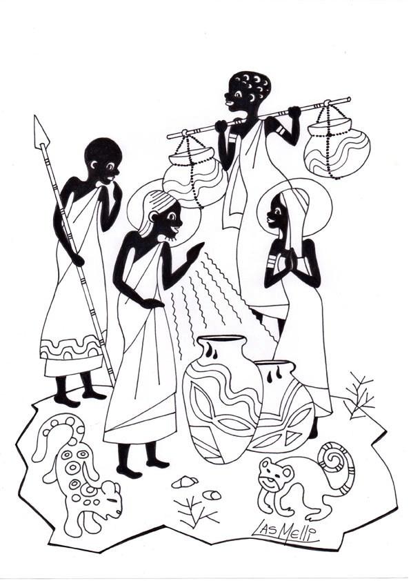 ensinanzaere: ROSARIO AFRICANO. MISTERIOS LUMINOSOS