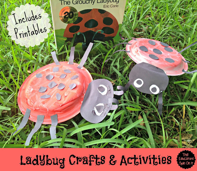 Ladybug Crafts and Activities