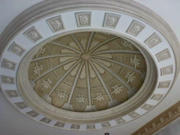 Gambar Plafon Rumah Minimalis Beberntuk Lingkaran