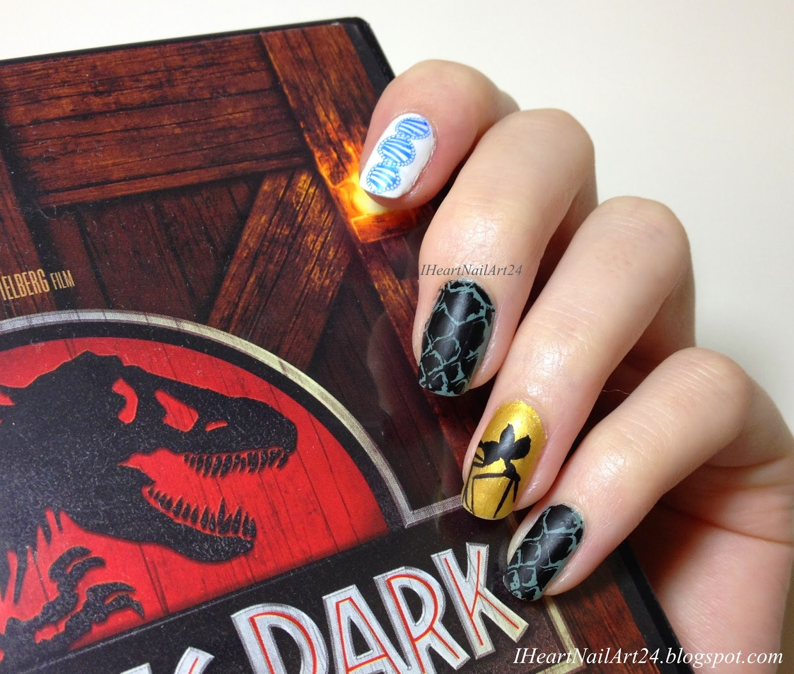 Welcome... to Jurassic Park! | I Heart Nail Art