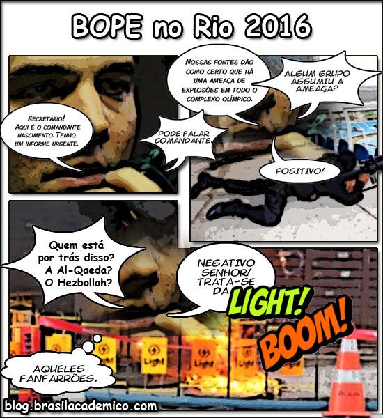 Bope no Rio 2016