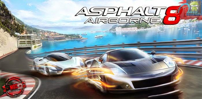 asphalt 8 mod apk(unlimited money and star)
