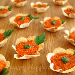 Spring Appetizer Flowers