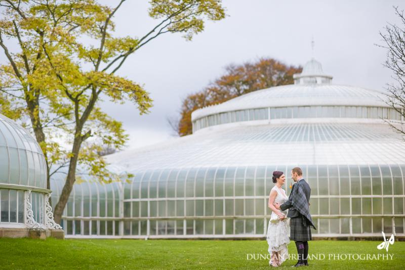 Oran Mor | Glasgow Botanic Gardens Wedding Photography