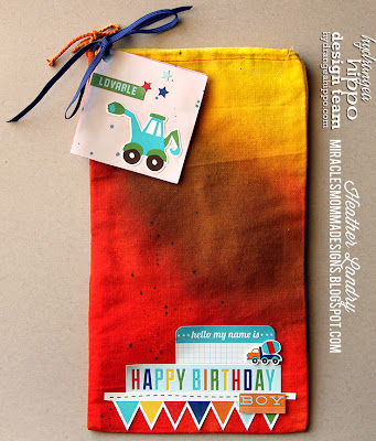Birthday Packaging_Little Boy_Canvas Bag_Ombre