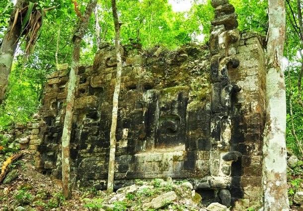 Descobertas duas cidades Maias na selva mexicana