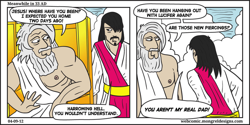 Joseph did raise him.