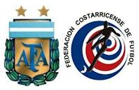 Resultado: Argentina vs Costa Rica (11 de Julio 2011)