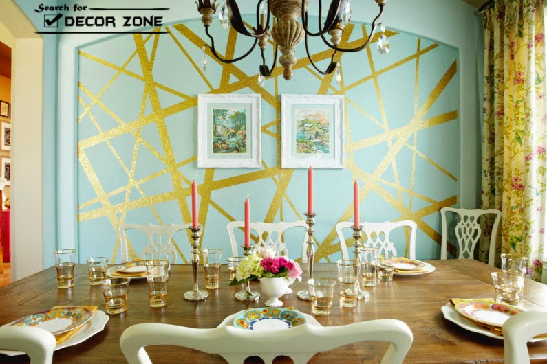 7 wall painting techniques and ideas for modern home for Dining room wall paint ideas