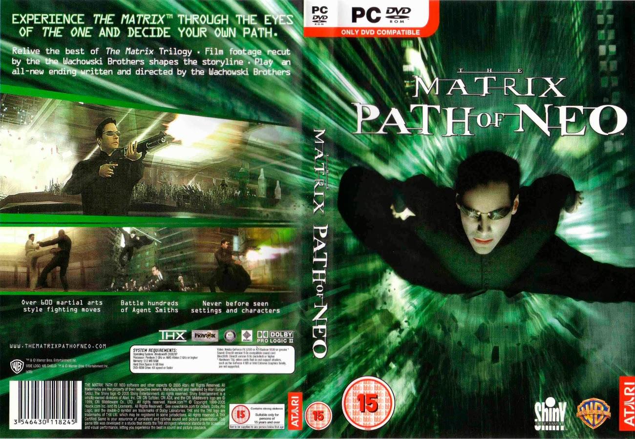 The Matrix Path Of Neo PC DVD Capa