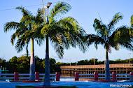 Praça da ponte de lagoa seca