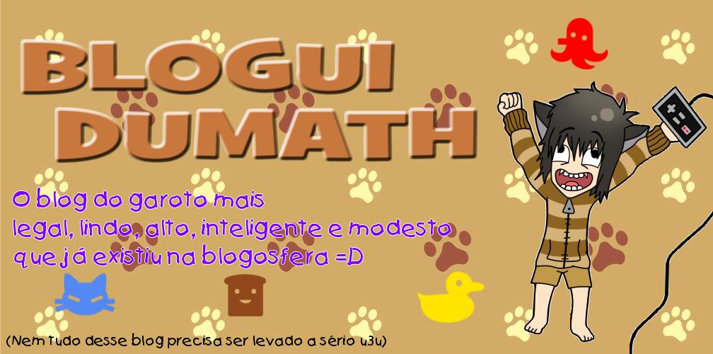 Blogui DuMath =D!