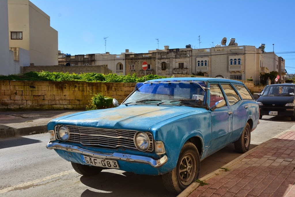Mosta General Impressions old car