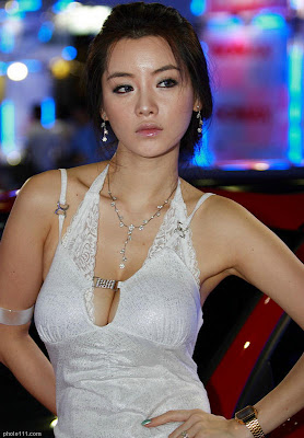 how beautiful] I'm Ji Hye, Model dan Ratu Balap Mobil Korea(BB++)