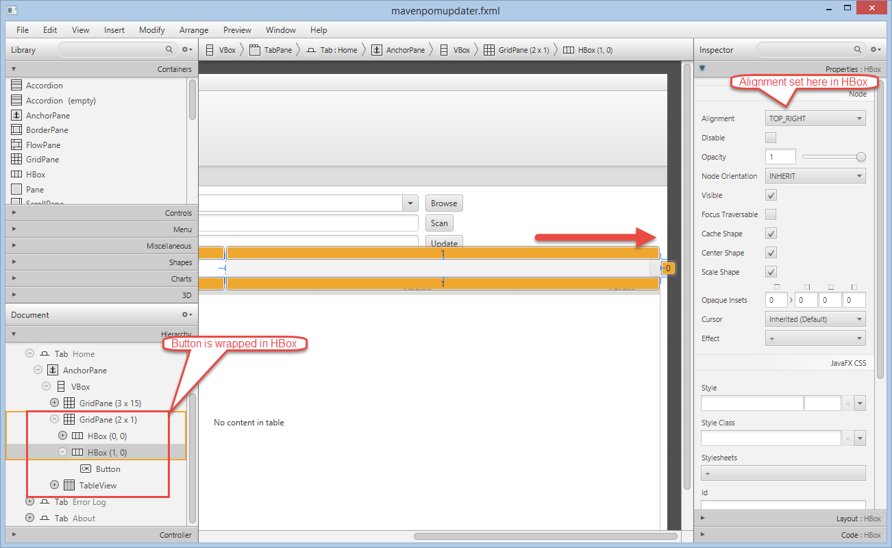 Bekwam Blog: Combining Right Aligned and Left Aligned Buttons in JavaFX