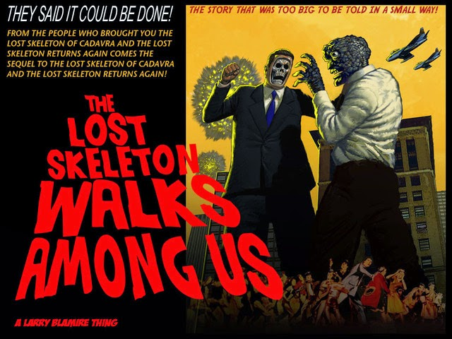 https://www.kickstarter.com/projects/1911769963/the-lost-skeleton-walks-among-us-larry-blamire-sci