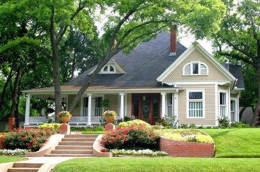 Contoh warna cat untuk eksterior rumah