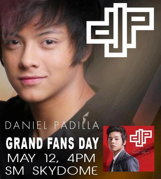 Daniel Padilla Grand Fans Day on May 12 at SM Skydome