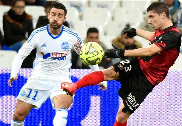 Liga Perancis : Olympique Marseille 2-1 Guingamp