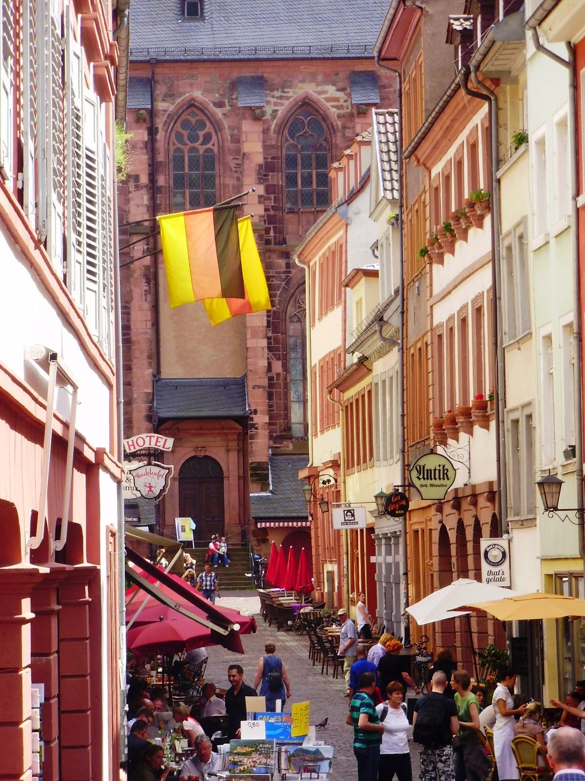 Steingasse Heidelberg