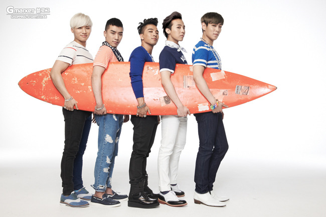 Big Bang Gmarket Summer Photos