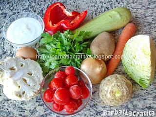 Ciorba de legume ingrediente reteta