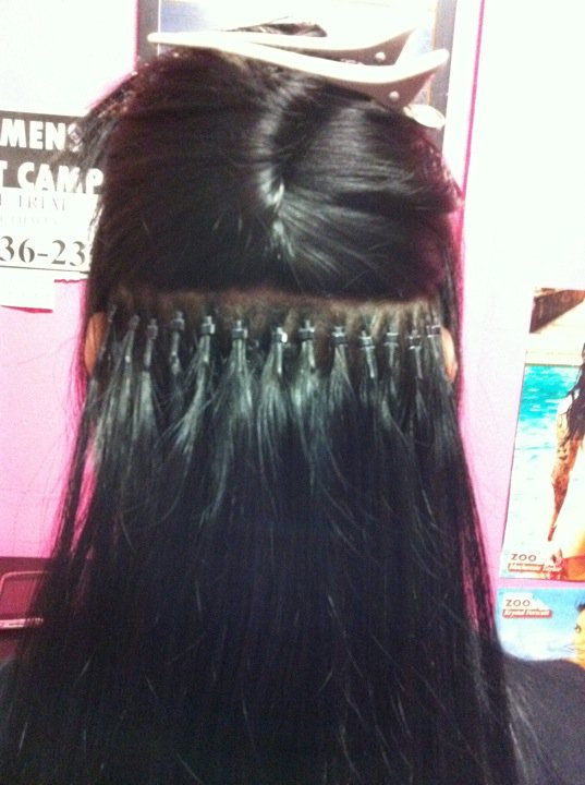 Hot stuff beauty blog december 2011 it is recommended to have micro bead hair extensions maintained moved up every 2 months to avoid damage or matting of your natural hair pmusecretfo Gallery
