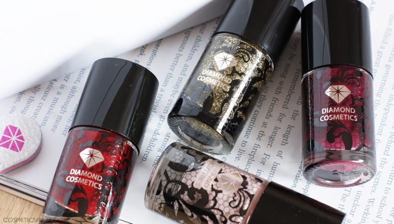 lakiery do paznokci diamond cosmetics