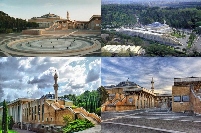 masjid agung italia - sejarah masuk islam di italia