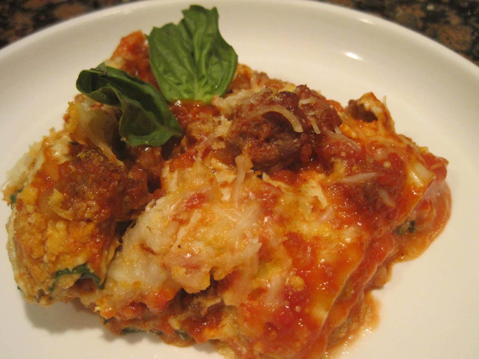 Recipes Re-Mixed: Quick Four Cheese Lasagna
