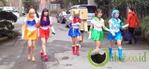 Sailormoon Akhirnya Lulus