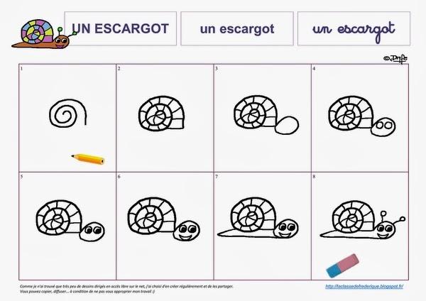 Laclassedefrederique janvier 2014 - Escargot maternelle ...
