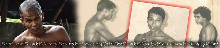 Fake Angam Guru Karunapala - කරුණාපාල නැමැති ව්යාජ අංගම්පොර ගුරුවරයා
