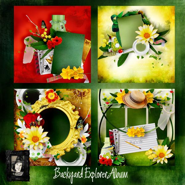 album pack Backyard Explorer by Valkyrie Designs